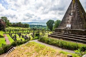 Graveyard at Stirling Castle 2015