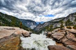 Top of Nevada Falls 2016